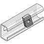 Gewindeplatte 38x17mm M8 V4A für Profilschienen 36/ 40