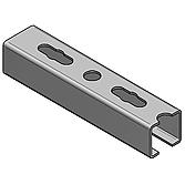 Profilschiene 45/ 40/ 2.5mm A2 Werkstoff-Nr. 1.4301