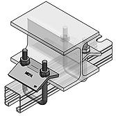Spannbügel-Set M10 für Profilschienen 45/ 80