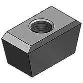 Keilmuttern für Holorib M8 mit Ig, 38/ 51 x 150 25x13mm