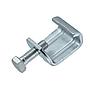 Gewindebügel/ Luftkanalklammer Verzinkt mit montierter Sechskantschraube für Flangesystem 20 30 40