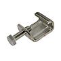 Gewindebügel/ Luftkanalklammer V2A mit montierter Sechskantschraube für Flangesystem 20 30 40