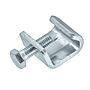 Gewindebügel/ Luftkanalklammer Verzinkt mit montierter Sechskantschraube für Flangesystem 20
