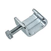 Gewindebügel/ Luftkanalklammer Verzinkt mit montierter Sechskantschraube für Flangesystem 30 und 40