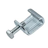 Gewindebügel/ Luftkanalklammer Verzinkt mit montierter Sechskantschraube für Flangesystem 20, 30, 40
