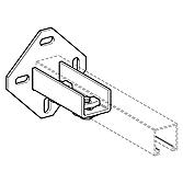 Wbd-Halter Va, 135mm, für M-Schienen 41/ 41 bis 41/ 62