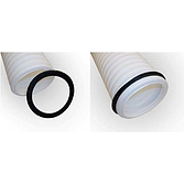 Kabelschutzrohr KSR Polyäthylen Zusatz- Gummidichtung