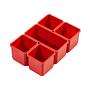 Milwaukee Set Ersatzboxen für Packout Organiser und Organiser Compact | Packout Aufbewahrungssystem