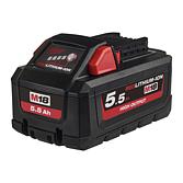 Milwaukee Akku 5.5Ah High Output Red Li-Ion für M12-M28 Serie | M18 HB5.5