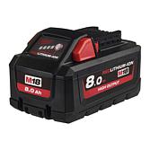 Milwaukee Akku 8.0Ah High Output Red Li-Ion für M12-M28 Serie | M18 HB8
