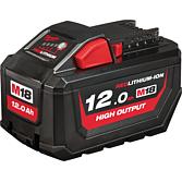 Milwaukee Akku 12.0Ah High Output Red Li-Ion für M12-M28 Serie | M18 HB12