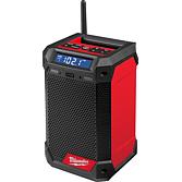 Milwaukee Akku Netz-/ Radio M12 Red Li-Ion mit Ladefunktion | M12 RCDAB+-0