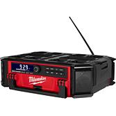 Milwaukee Akku Netz-/ Radio M18 Packout Red Li-Ion mit Ladefunktion | M18 PRCDAB+-0