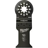 Milwaukee Multitool Tauchsägeblatt Bi-Metall Starlock für Schnitte in Holz mit Nägeln