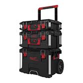 Milwaukee Set Arbeitskoffer 3-Teilig | Packout Aufbewahrungssystem