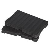 Milwaukee Universal-Schaumstoffeinlage für Koffer und Koffer gross | Packout Aufbewahrungssystem