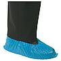 Einweg-Ueberziehschuhe mit Elastikzug, blau Beutel à 100Paar