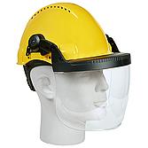 Polycarbonatscheibe klar zu Gesichts-/ Gehörschutzsystem