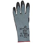 Schutzhandschuhe Showa 310 aus Baumwollgestrick,grau