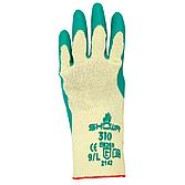 Schutzhandschuh Showa 310 aus Baumwollgestrickgr. 9/ Lgrün