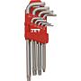 Jet Inbusschlüssel-Satz Torx T15 - T50 9-Teilig