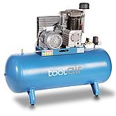 Toolair Kompressor C270/ 850 Tankinhalt 270 L, Motor 400V
