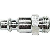 """Stecknippel R-1/ 4"""" Ag 8mm Stahl Gehärtet"""