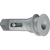 Tox-Gipskartond. B-Gd 39-5 2 Dübel, 2 Senkkopfschrauben 4.5
