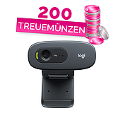 Logitech Webcam C270 für HD Videogespräche