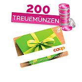 Coop Geschenkkarte im Wert von 50.00 CHF