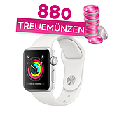 Apple Watch Series 3 Weiss 38mm