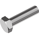 Sechskantschrauben V2A ohne Schaft DIN 933 M20x90