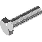 Sechskantschrauben V2A ohne Schaft DIN 933 M20x140